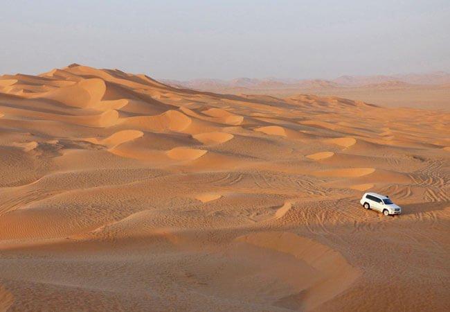 Oman Arabian Desert Explorer main itinerary image